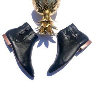 """$395 Loeffler Randall """"Indie"""" Ankle Chelsea Boots"""
